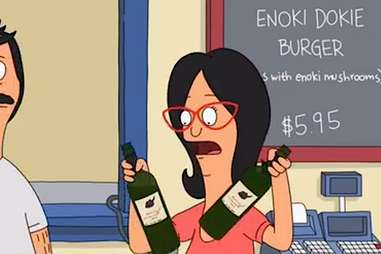 Enoki Dokie Burger