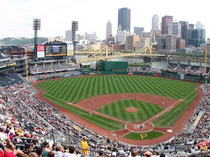 major league baseball stadiums