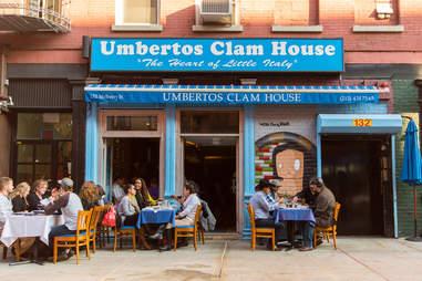 Umberto's Clam House Exterior