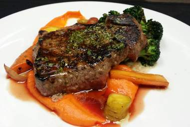 Steak at Hay Merchant