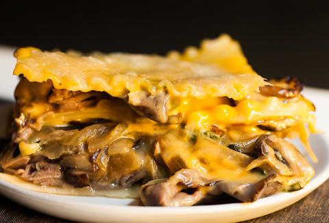 cheesesteak lasagna