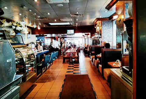 The Viand Cafe interior