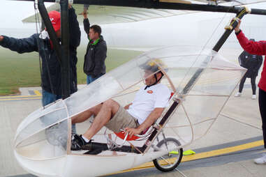 Icarus Cup Winner Dave Bradford