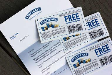 Tastykake coupons