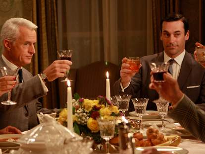 mad men characters drinking