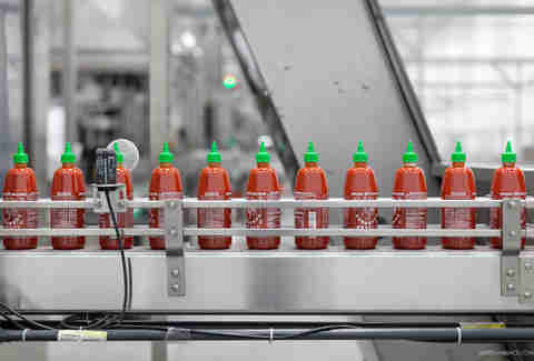 sriracha production