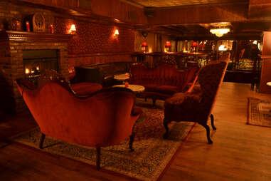 Backroom bar interior