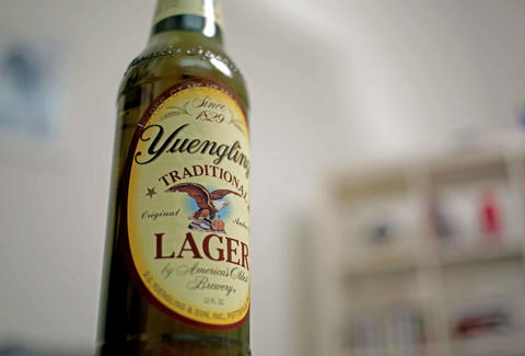 Bottle of Yuengling