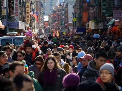 crowded nyc