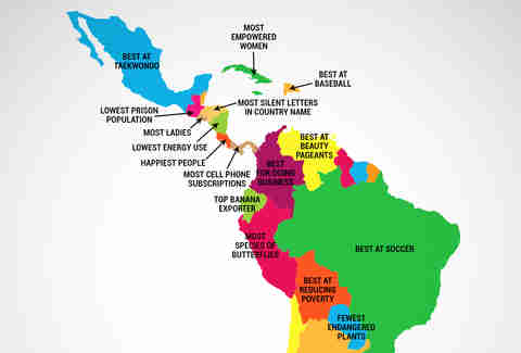What Every Latin American Country Is Best at