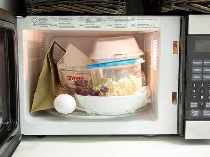 stuff in microwave