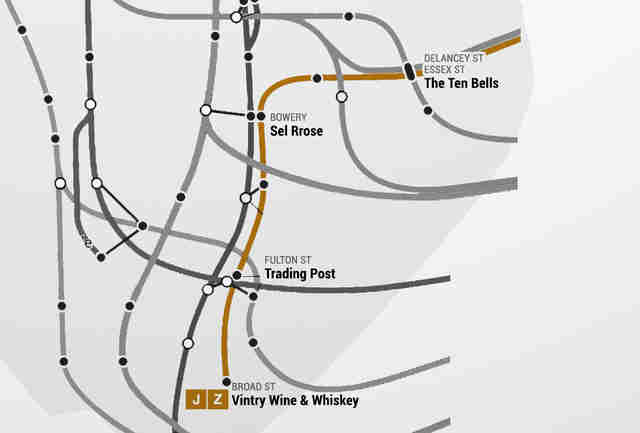 Manhattan Subway Date Map Date Ideas Bars Restaurants