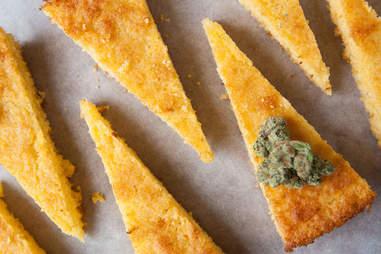 Cannabis cornbread