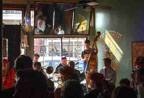 live music on frenchmen street