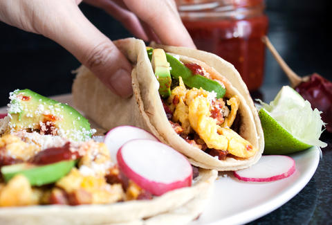 Breakfast Tacos — Thrillist Recipes