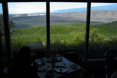 rim restaurant volcano house hawaii kilauea