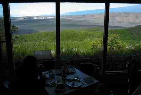rim restaurant volcano house hawaii kilauea