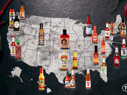 thrillist hot sauce map