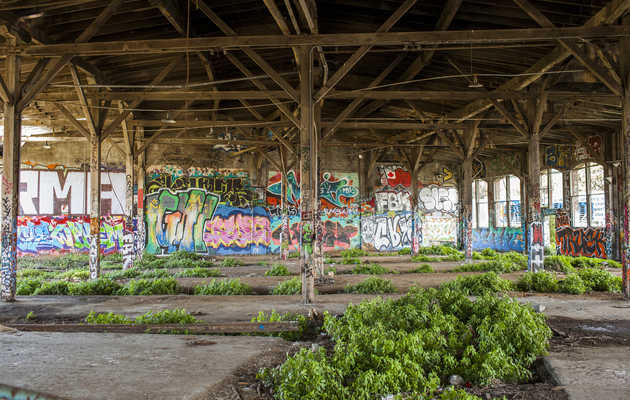 This 105-Year-Old Abandoned Train Yard in SF? Incredible.