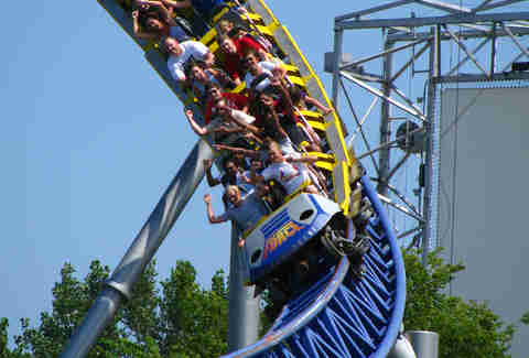 millennium force sandusky cedar point