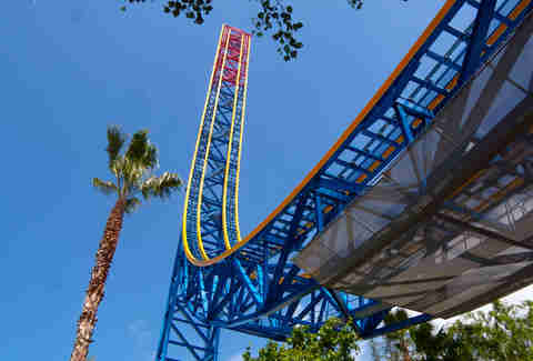 superman escape from krypton six flags magic mountain valencia
