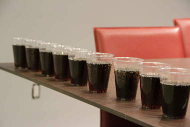 Cups of soda