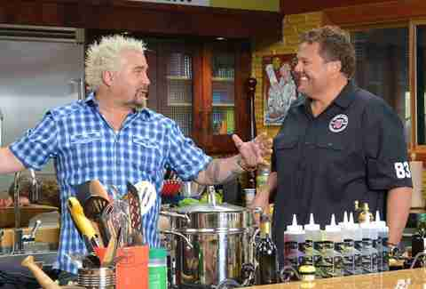 Guy Fieri and Jimmy John Liautaud