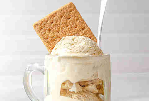 Graham cracker ice cream