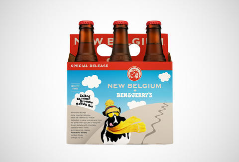 New Belgium and Ben & Jerry's beer