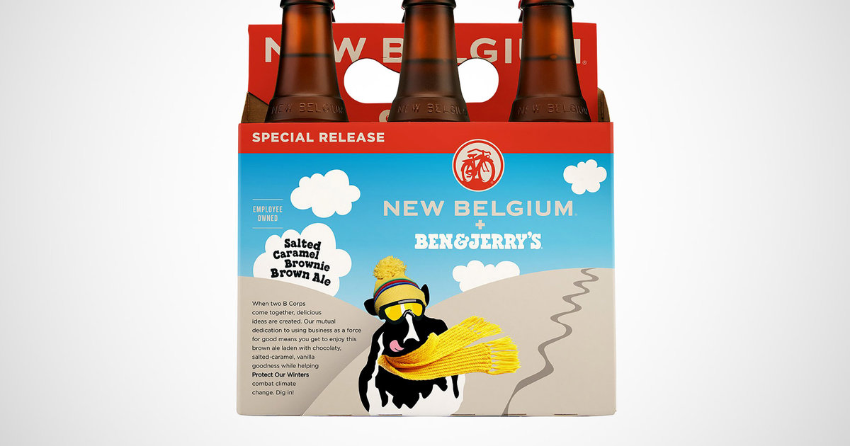 Here's Everything You Need to Know About New Belgium's Ben & Jerry's Beer