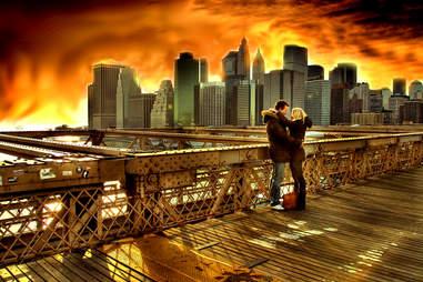 New York kiss
