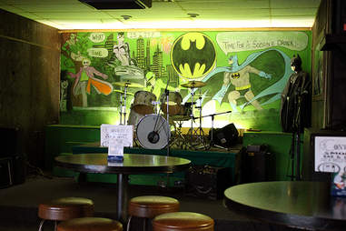 interior of Conway's Smokin' Bar and Grill Milwaukee
