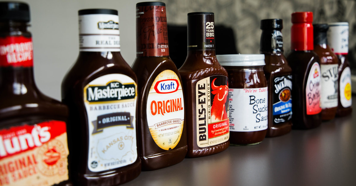 Charming Barbecue Sauce For Sale Part - 1: Best Bottled BBQ Sauce - Sweet Baby Rayu0027s, Stubbu0027s, KC Masterpiece,  Bullu0027s-Eye - Thrillist