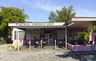 Football Sandwich Shop