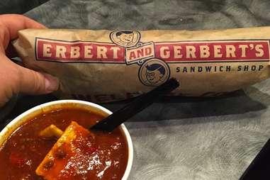Erbert & Gerbert's sandwich