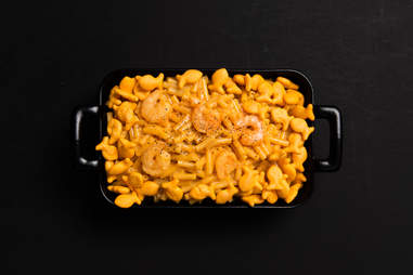 Seafood mac 'n' cheese — Thrillist Recipes