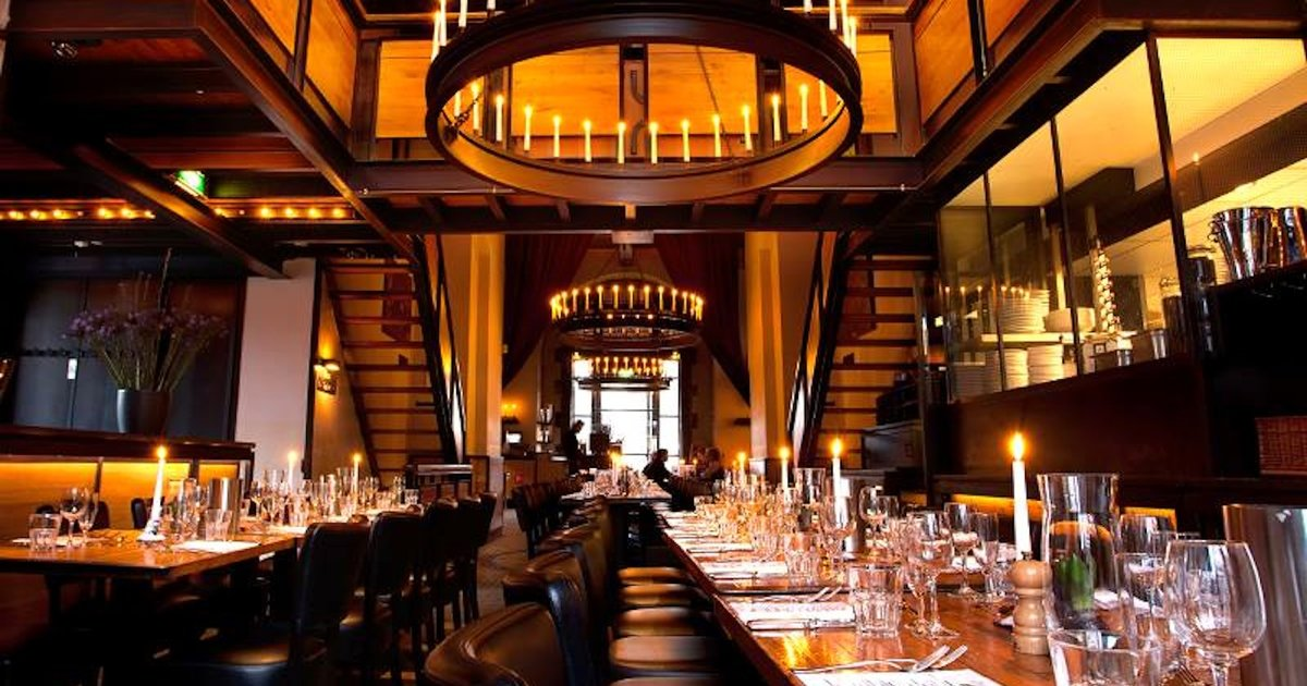 The most important restaurants in amsterdam thrillist for Atlantic city romantic restaurants