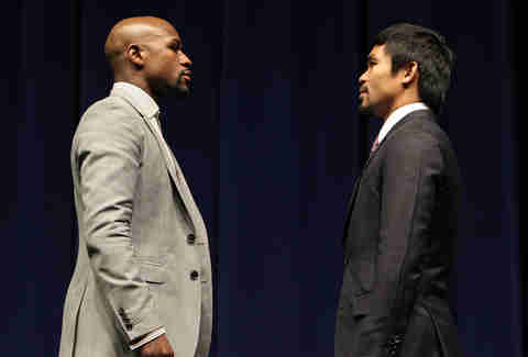 Mayweather vs Pacquiao in profile