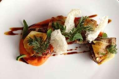 vegetables from oak