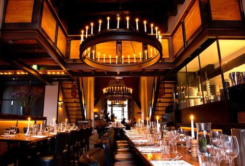 Restaurant Caf 233 In De Waag A Amsterdam Netherlands Bar