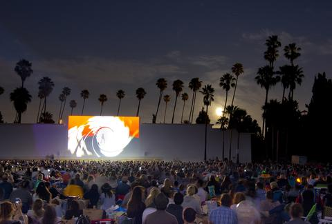 outdoor movies la