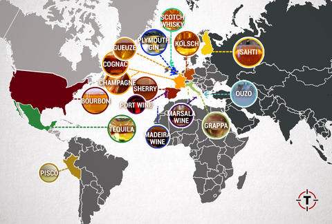 world booze map