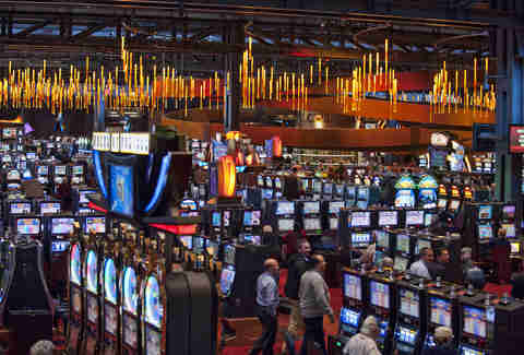 Sands slot machines