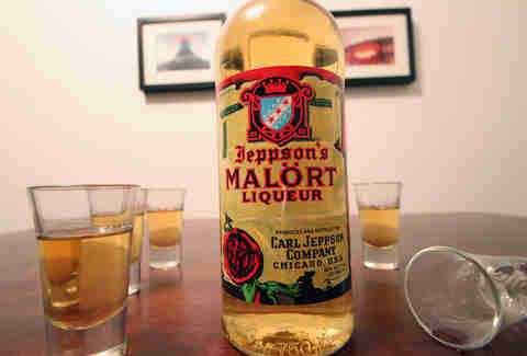 Shots of Malort