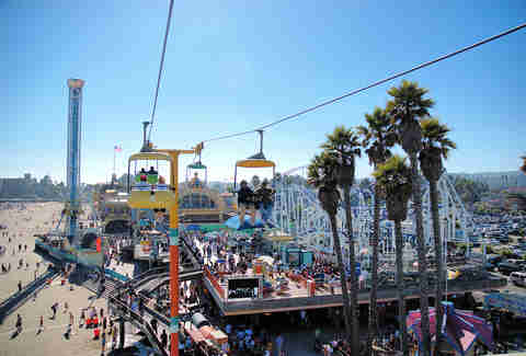 santa cruz beach boardwalk california