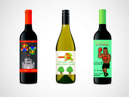 Nintendo wines