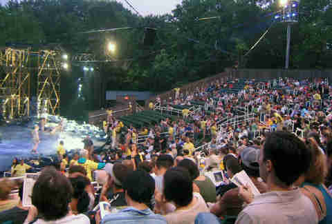 how to get tickets for shakespeare in the park