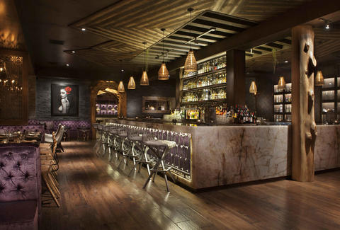 Toca madera a los angeles ca bar - Modern interior doors los angeles ...