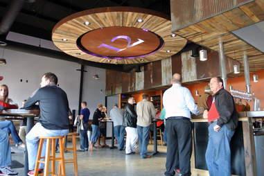 Visitors at Flat12 Bierwerks