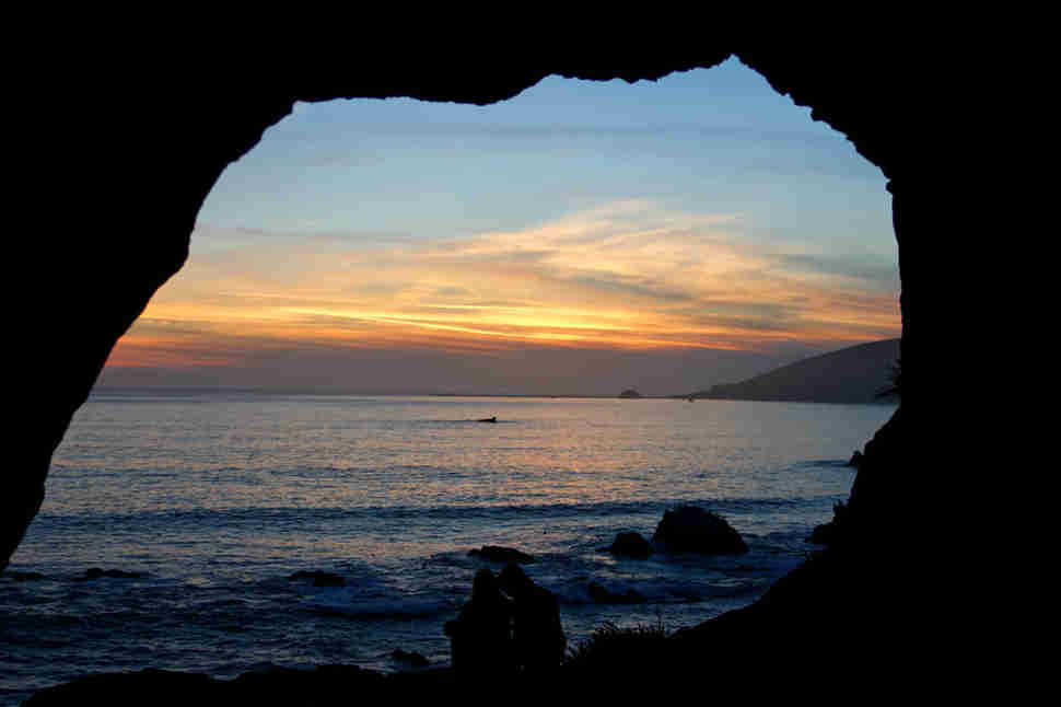 avila beach sea caves